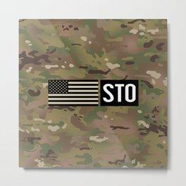 STO (Camo) Metal Print
