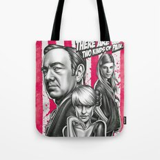 Two Kinds Of Pain - House Of Cards Tote Bag