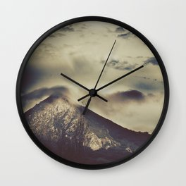 to move a mountain Wall Clock