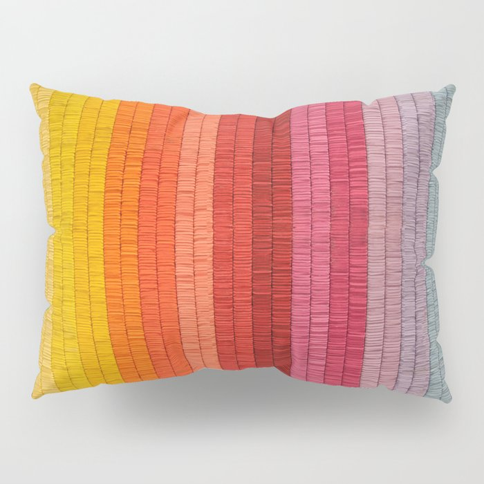 Band of Rainbows Pillow Sham
