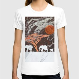 Elephants in the sun T-shirt