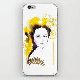 Frida, watercolor iPhone Skin