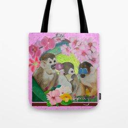 wise monkeys 3.0 Tote Bag