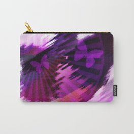 Flight of the butterflies at sunset . Carry-All Pouch