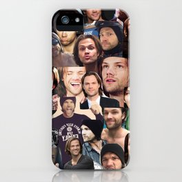 Jared Padalecki Collage iPhone Case