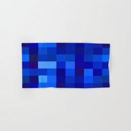 Blue Mosaic Hand & Bath Towel