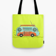 The Music Bus Tote Bag