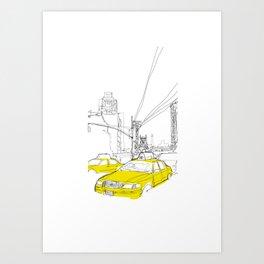 Cross Town Traffic Art Print