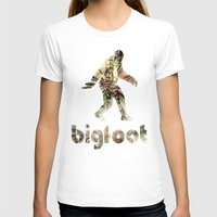 bigfoot T-shirts featuring Bigfoot Predator by D-fens