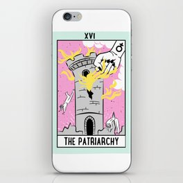 The Cards Say Smash the Patriarchy iPhone Skin
