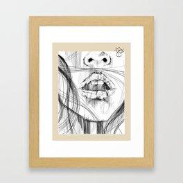Treason Framed Art Print