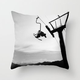Give me a Lift Throw Pillow