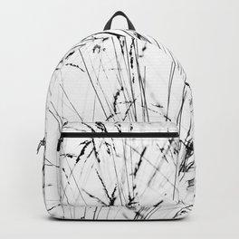 Winter Grasses Backpack
