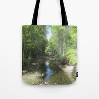 brand new Tote Bags featuring A Brand New Journey by Gwendalyn Abrams