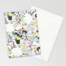 Pop Art ( Cartoon Pattern) V2 Stationery Cards