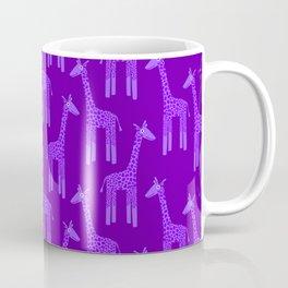 Giraffes-Purple Coffee Mug