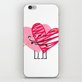 Love & Friendship iPhone Skin