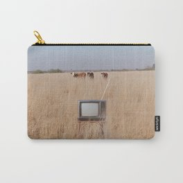 Cow TV Carry-All Pouch