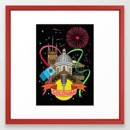 Golowan Festival Framed Art Print