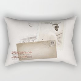 The Message, Gallery One Rectangular Pillow