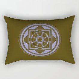 Kalachakra Mandala Rectangular Pillow
