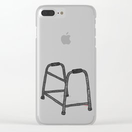 Walker Recovery Clear iPhone Case