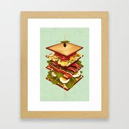 Sandwich Framed Art Print