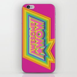 Awesome. Wow. iPhone Skin