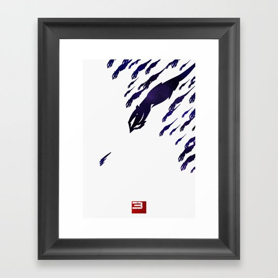 Mass Effect 3 (w/quote) Framed Art Print