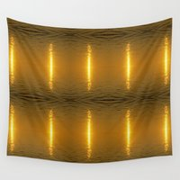 swedish Wall Tapestries featuring Swedish Ripples by LesImagesdeJon