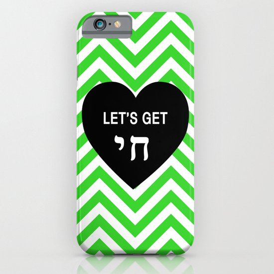 Let's get chai. iPhone & iPod Case