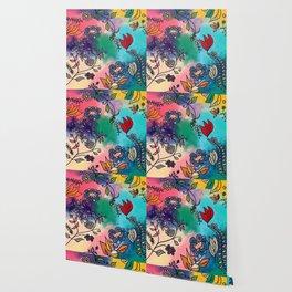 Magical Flowers Wallpaper