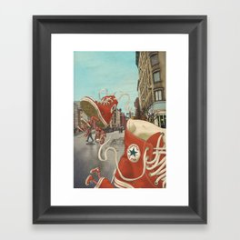 Runaways Framed Art Print