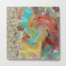 A Mix of Happy Colors Metal Print