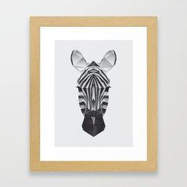 The Animals - Zebra Framed Art Print