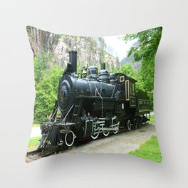 Old Number Six Throw Pillow