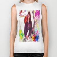 scandal Biker Tanks featuring Scandal Baby by Don Kuing