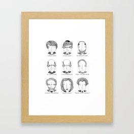 The Architectural Dream Team Framed Art Print