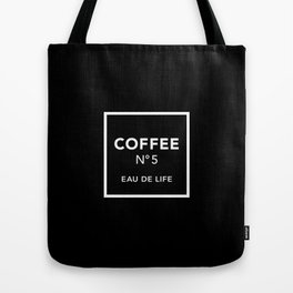 Black Coffee No5 Tote Bag