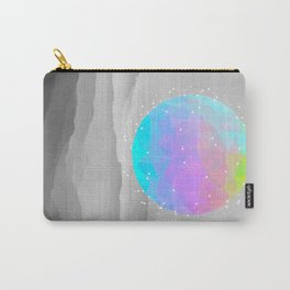 Worlds That Never Were (Geodesic Moon) Carry-All Pouch