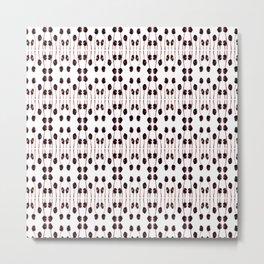 Amaranth Pop - Pattern Metal Print