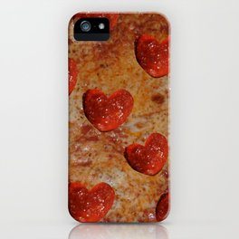 Love Pizza iPhone Case