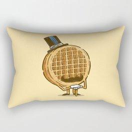 The Fancy Waffle Rectangular Pillow