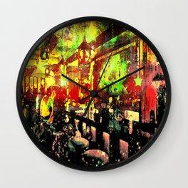 Star Lounge Wall Clock