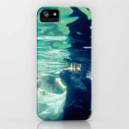 Chasing love iPhone Case