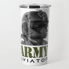 Army Aviator Military Pilot Travel Mug
