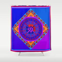 Astrological Hunab Ku Shower Curtain