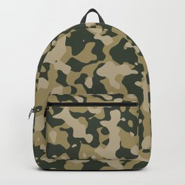 Camouflage Duffel Bag - Khaki Backpack