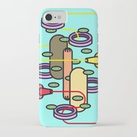 hot dog iPhone & iPod Cases featuring Hot dog by Jan Luzar