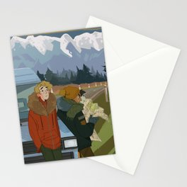 ExR Road trip Stationery Cards
